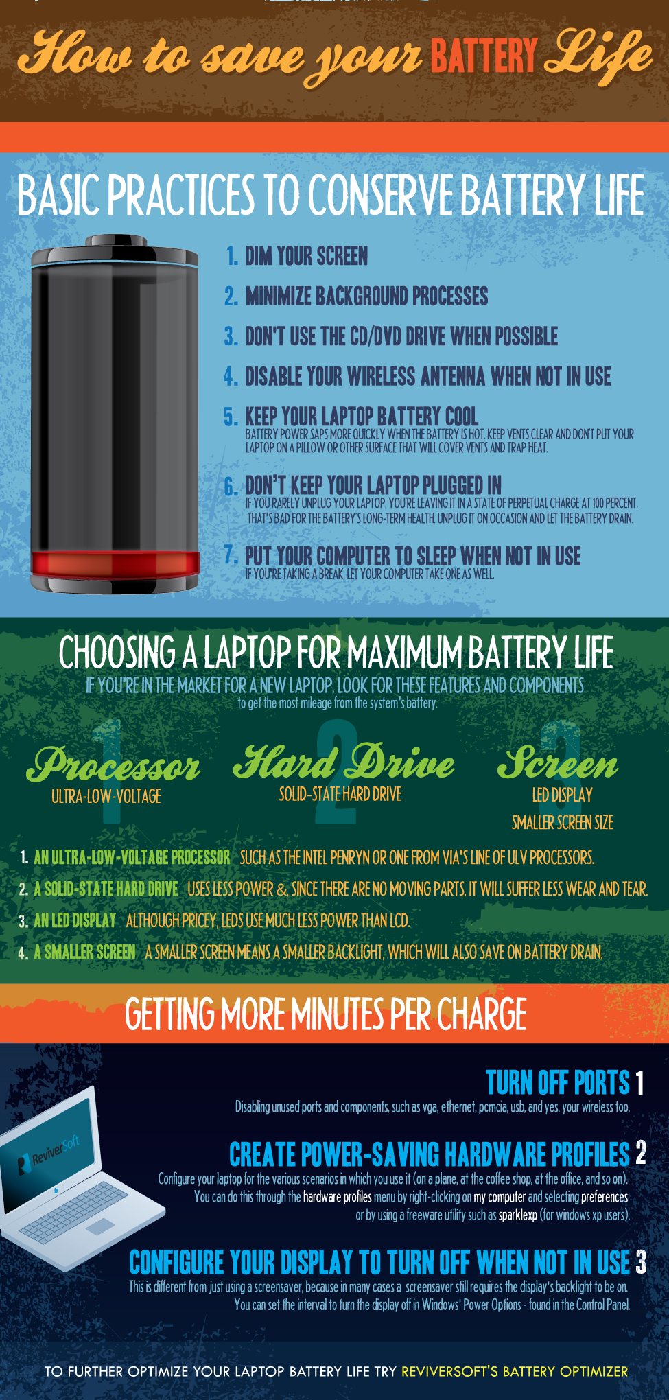 Save Laptop Battery Life