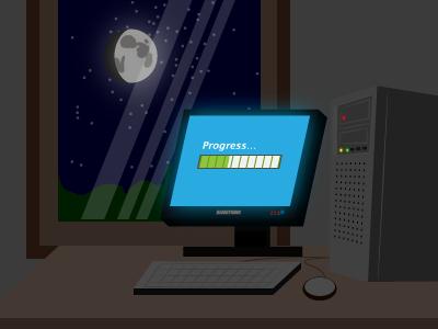 Schedule Windows Tasks at Night