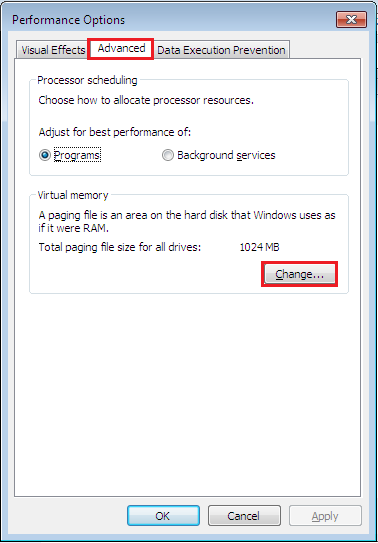 Adjust Virtual Memory in Any Version of Windows