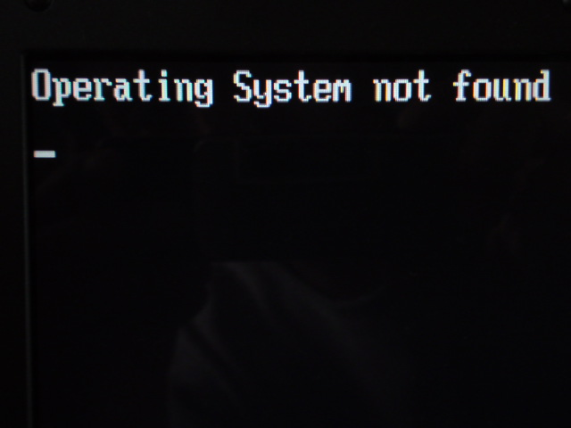 Fix Operating System Not Found Errors