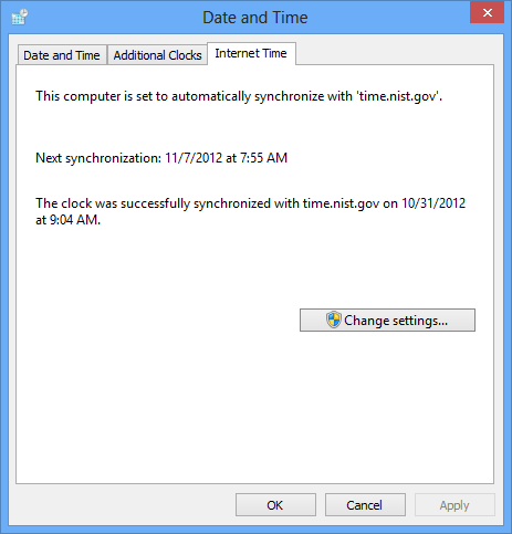 The Windows 8 date and time is wrong  How do I fix it?