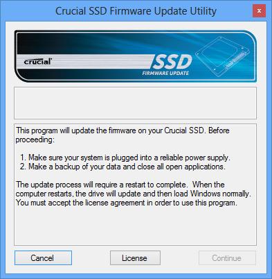BSOD Crucial Firmware
