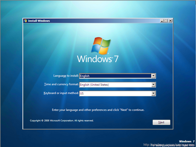 how to put windows7 on to a new hard drive