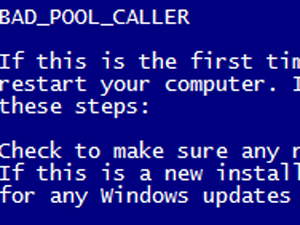 What does the BAD_POOL_CALLER Blue Screen error mean in
