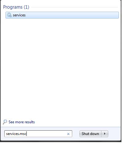 Disabling Windows Services