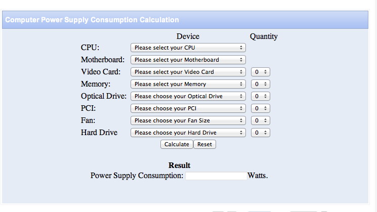 How to Calculate Power Consumption of Your Computer