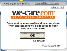 How to Remove We-Care.com Reminder