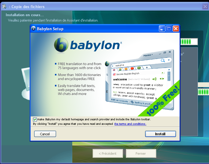How do I remove Babylon Search from Internet Explorer and elsewhere?