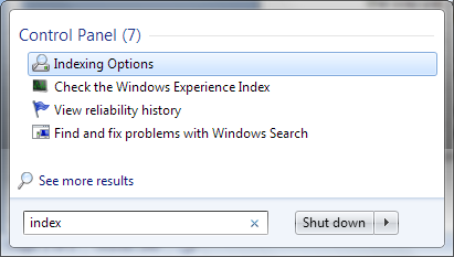 Fixing Problems with the Windows Search Indexer