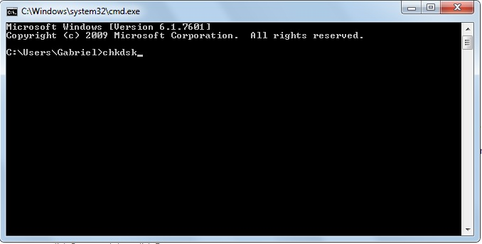 Windows CMB prompt
