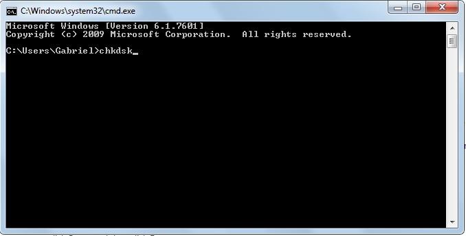 Windows CMB prompt
