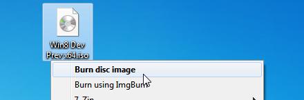 Burn Image