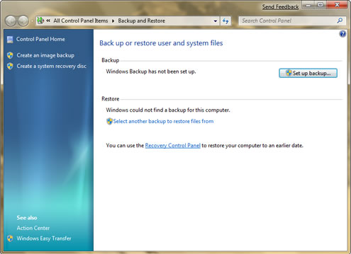 windows 7 create factory restore disk