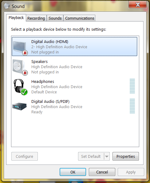 Audio Playback Devices