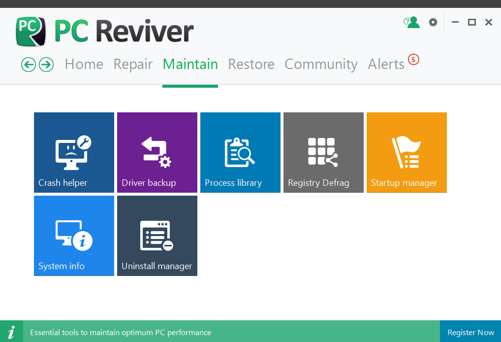 PC Reviver Maintain