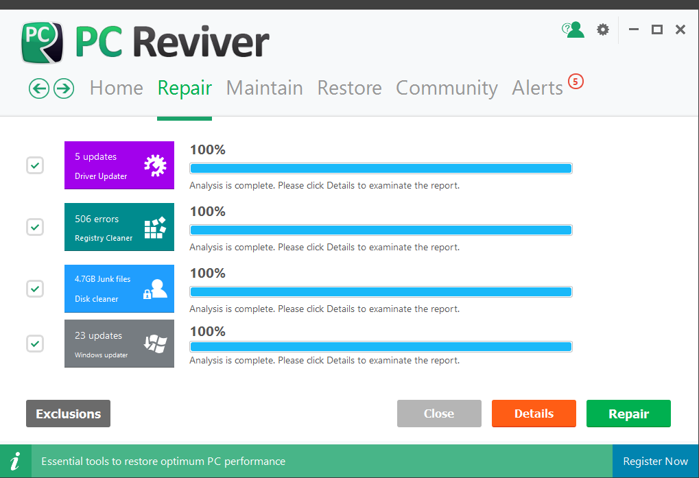 PC Reviver Repair