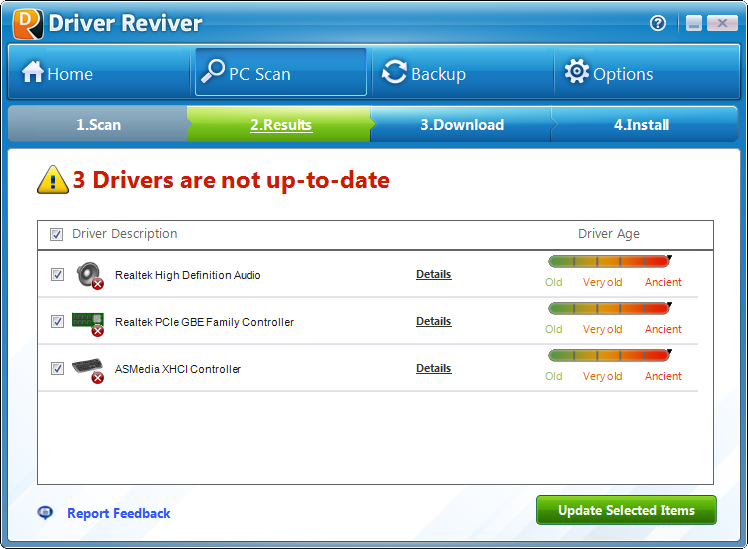 Why Driver Reviver's Results are Superior