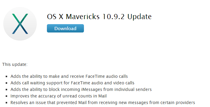 Mac Users: Time to Update to OS X 10.9.2