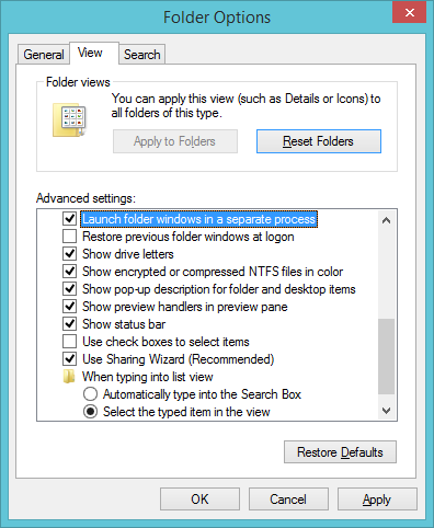 I can't create new folders in Windows 7. How do I fix this?