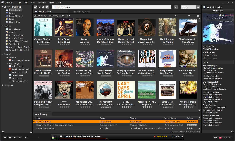 beste musik player f r windows musik apps. Black Bedroom Furniture Sets. Home Design Ideas