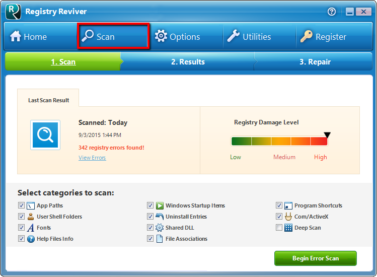 Top 5 Things to Know about Registry Reviver