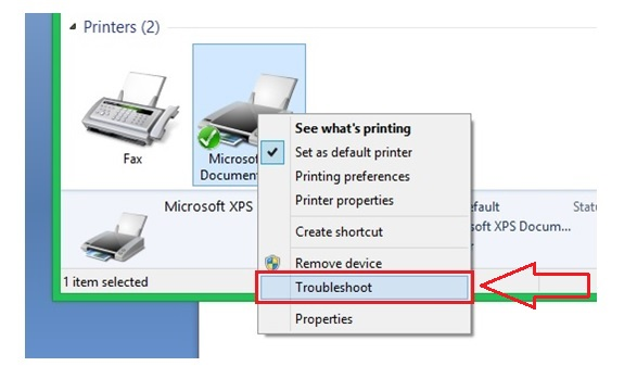 votre imprimante a rencontre un probleme de configuration inattendu