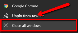 image for steps to fix taskbar issues