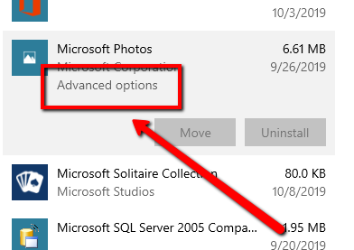 image for Fix Windows Photos app issues