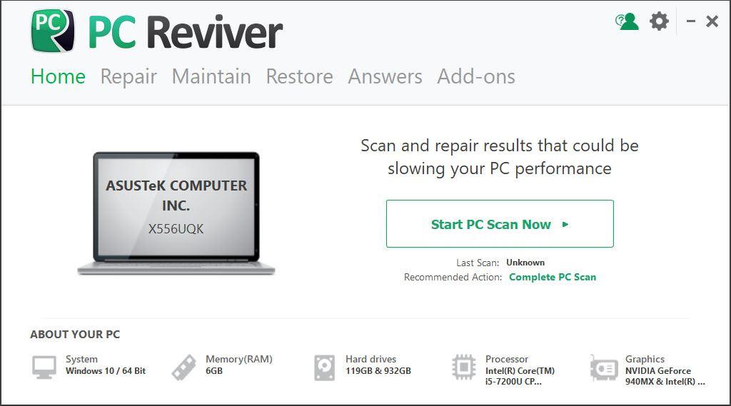 исправить сломанный реестр