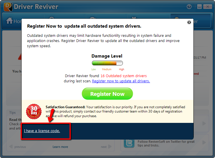 driver reviver product key