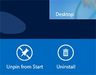 Hur du avinstallerar en Windows 8-applikation (Windows 8 Themed Application)