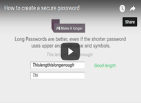How to create a secure password you can remember