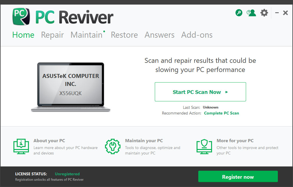الصيانة اصدراته ReviverSoft Reviver 3.7.2.4