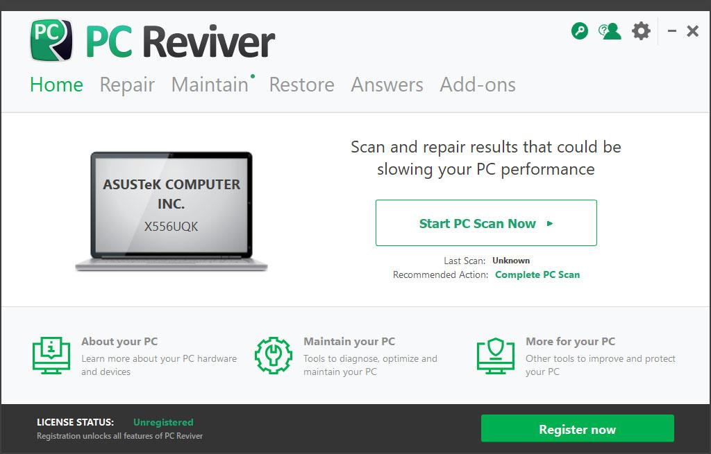 Resultado de imagen de ReviverSoft PC Reviver 3