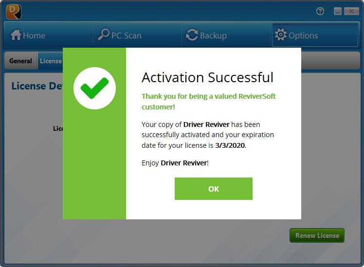 driver reviver license code free