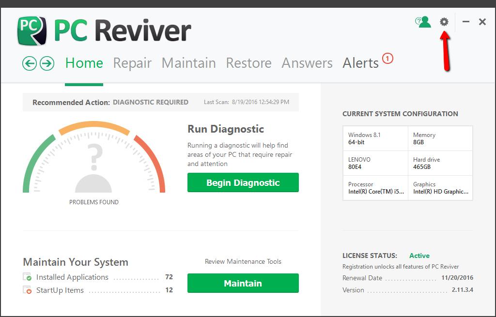 pc reviver crack download