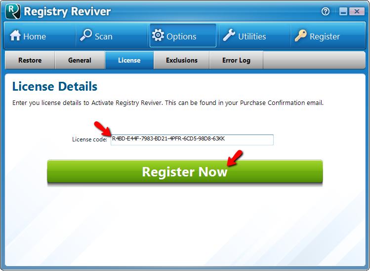 код лицензии для driver reviver