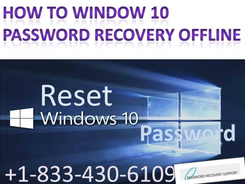 nt offline password reset windows 10